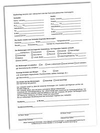 Vordruck für Wohnwagen Kaufvertrag kostenlos zum Download